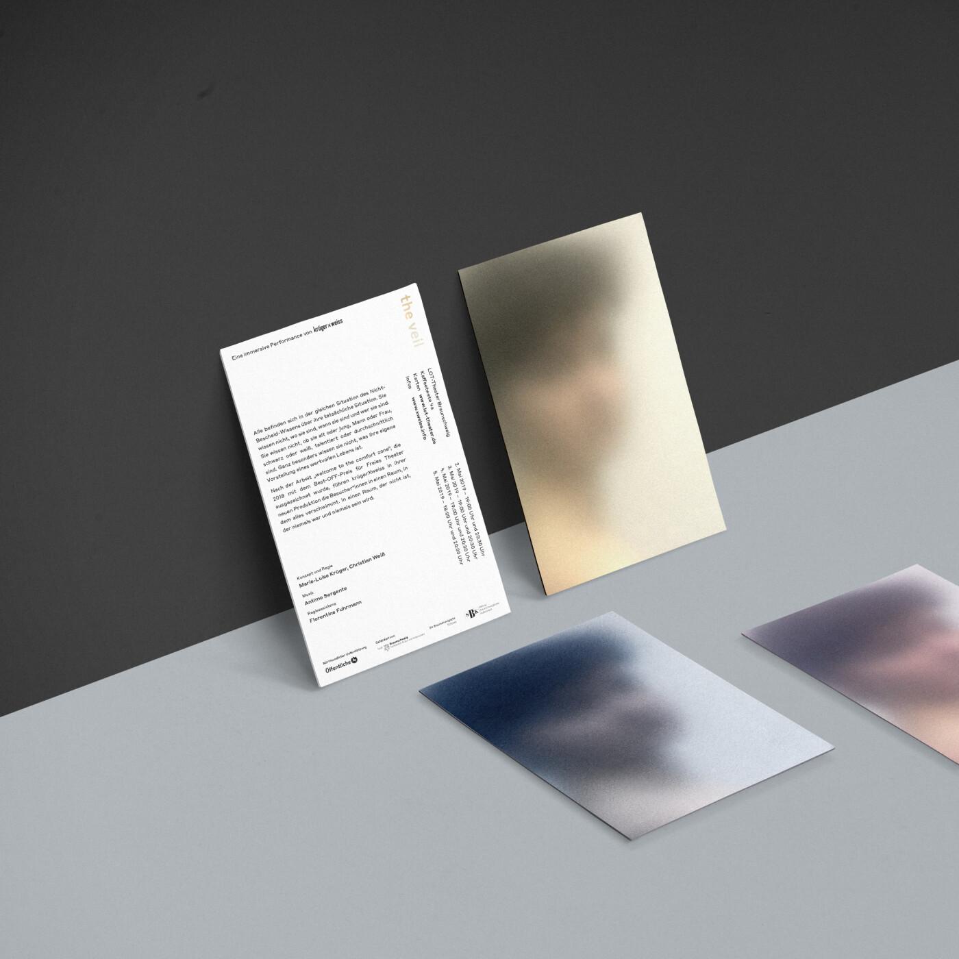 The Veil Card Mockup