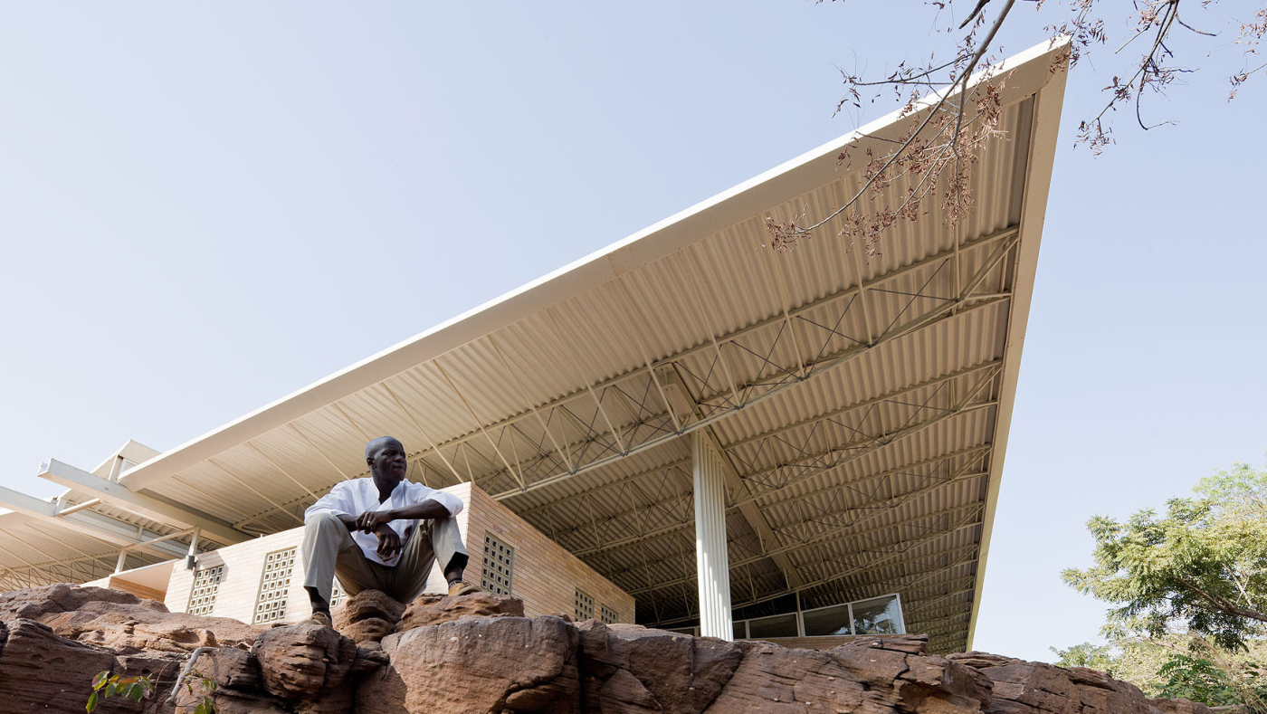 Edit Roof Structure Of The National Park Of Mali Photo By Iwan Baan