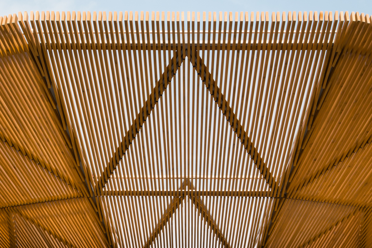 Detail Of Wall And Roof Of Serpentine Pavilion Kr Architecture Photo By Jim Stephenson