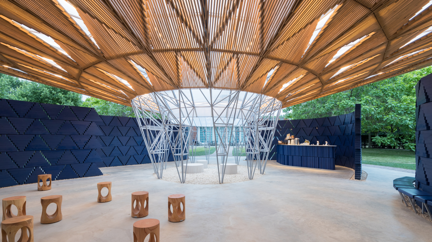 Interior Of The Serpentine Pavilion Kr Architecture Photo By Iwan Baan