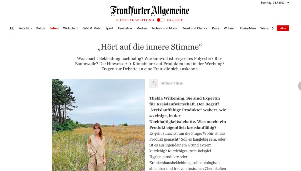 Kleiderei Thekla Wilkening Rostock Das Bio-Pizza Dilemma Frankfurter Allgemeine Zeitung